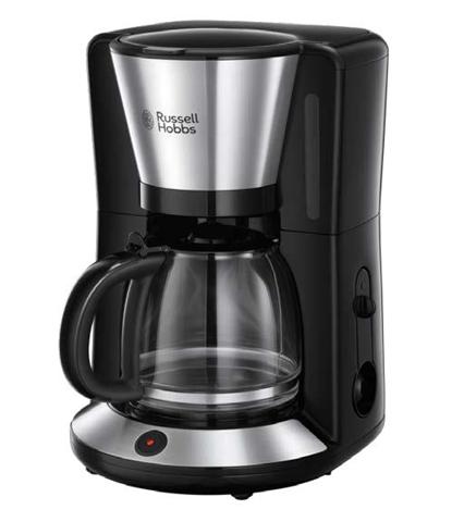 russell hobbs 24010-56 macchina per caff piano di lavoro macchina da caff con filtro 1,25 l