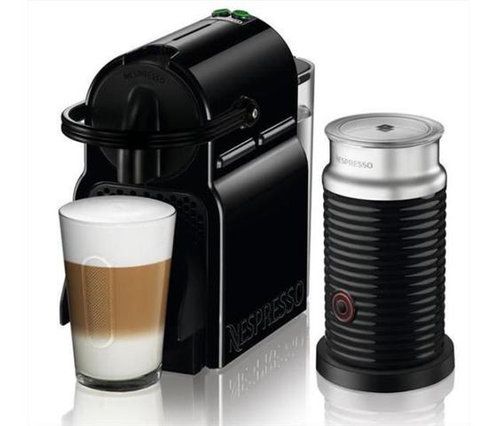 DeLonghi Macchina da caff Inissia sistema Nespresso & Aeroccino EN 80.BAE
