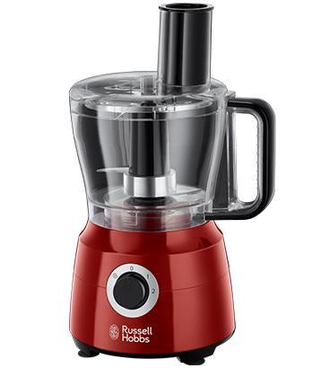 russell hobbs 24730-56 robot da cucina 2,5 l rosso 600 w