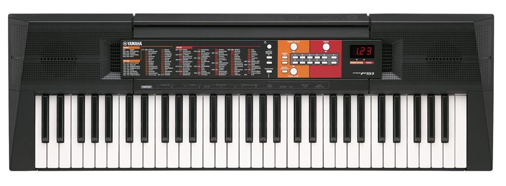 Yamaha PSR-F51 tastiera MIDI 61 chiavi Nero