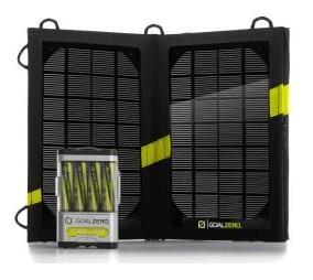 KPSPORT GZ-41022 Solare Nero carica batterie