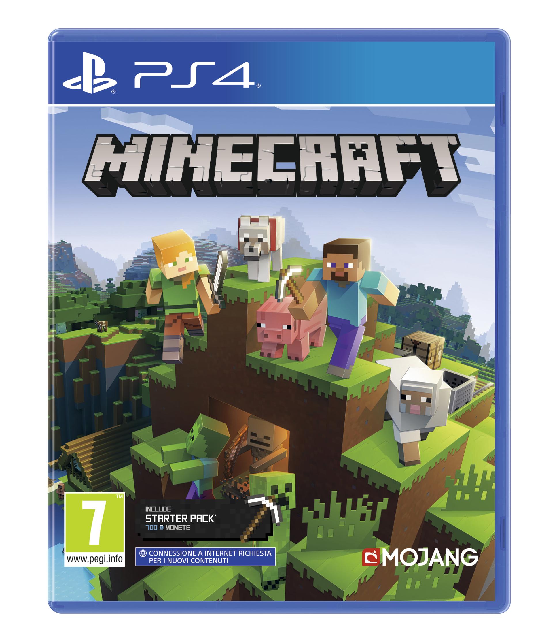 Mojang Sony Minecraft, PS4 videogioco PlayStation 4 Basic