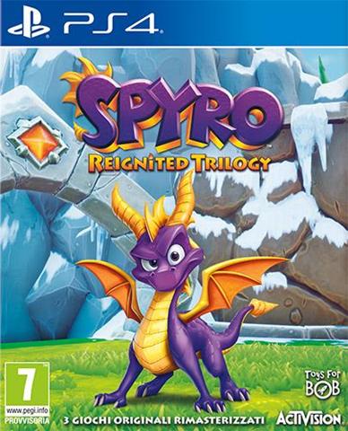 Activision Blizzard Spyro Trilogy Reignited - PS4