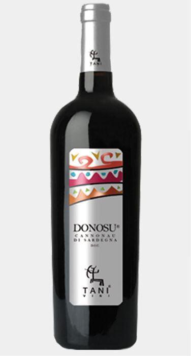 cantina tani donosu - cannonau di sardegna doc 2019 (bottiglia 75 cl)