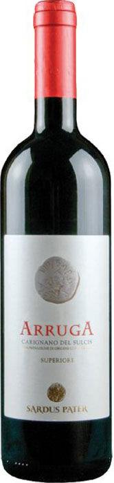 sardus pater arruga - carignano del sulcis doc superiore 2016 (bottiglia 75 cl)