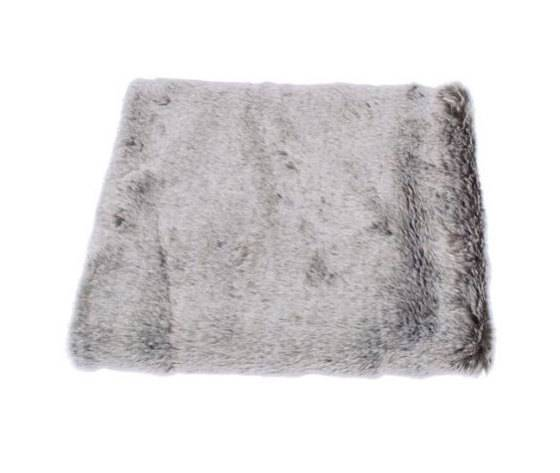 WALTON & CO LTD Silver Wolf Throw Plaid