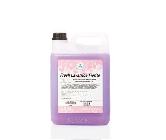 Detersivo Liquido Per Lavatrice Fresh Lavatrice Fiorito 5 Litri (4 Pezzi)