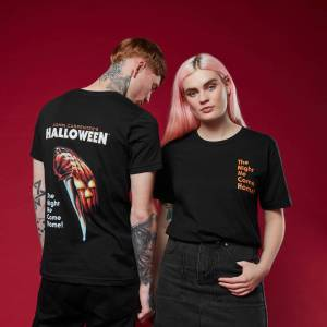 Halloween T-Shirt Nero XL Nero