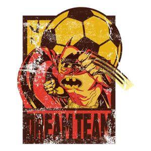 DC Comics T-Shirt DC Comics Batman Dream Team Punch - Bianco - L - Bianco