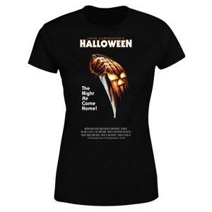 Halloween T-Shirt Poster Nero Donna XL Nero