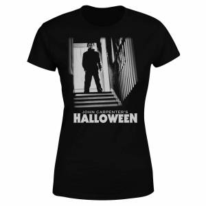 Halloween T-Shirt Mike Myers Nero Donna XL Nero