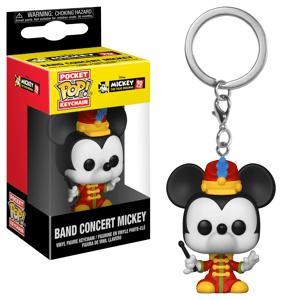 Pop! Keychain Disney 90 ° Anniversario Topolino Banda Portachiavi Pop! Vinyl