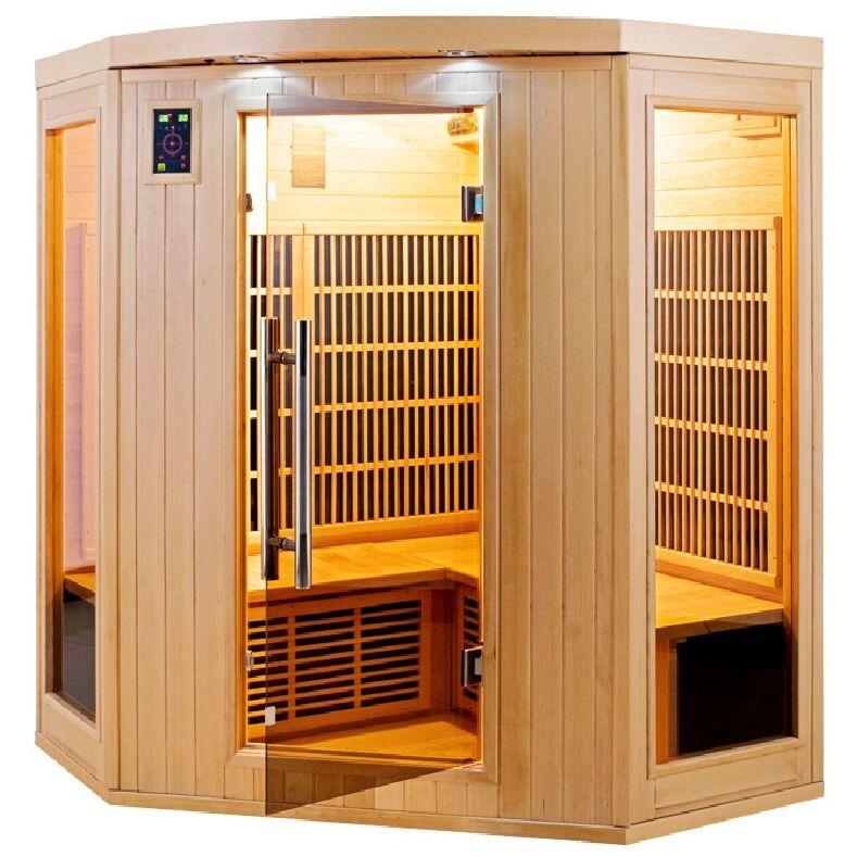 Sauna infrarossi angolare 4 posti Full Optional Timo