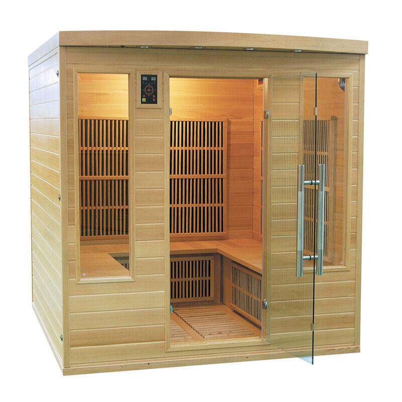 Sauna a infrarossi Timo Club 185 x 185