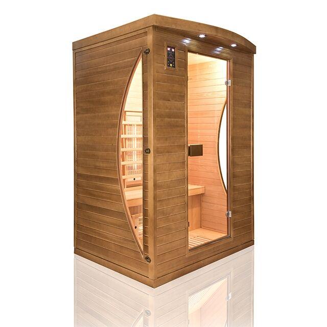 Sauna ad infrarossi al Quarzo e Magnesio 2 posti Spectra
