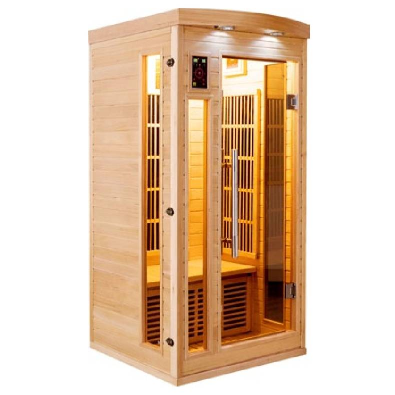 Sauna infrarossi 1 posto Timo Full Optional