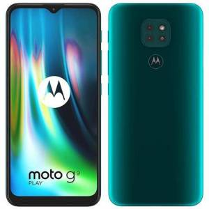 Motorola Moto G9 Play Verde 64 GB Dual Sim Display 6.5'' HD+ Slot Micro SD Fotocamera 48 Mpx Android