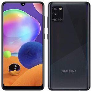 Samsung Galaxy A31 Nero 64 GB Dual Sim Display 6.4'' Full HD+ Slot Micro SD Fotocamera 48 Mpx Android Italia
