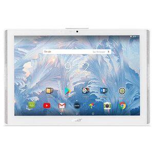 Acer Tablet Iconia One 10 Bianco 10.1'' HD Quad Core Ram 2GB Memoria 16GB +Slot MicroSD WiFi - 4G Fotocamera 5MP Android - Italia