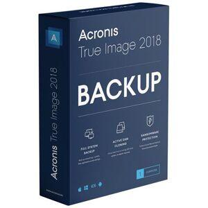 Acronis True Image 2018 Versione Completa - 5 Dispositivi Per 1 Anno - Licenza Esd