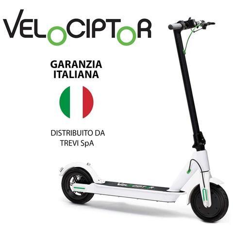 Trevi Monopattino Elettrico Velociptor ES 85W Velocità fino a 25 km / h Ruote da 8.5'' Luci e Freno a Disco - Nero