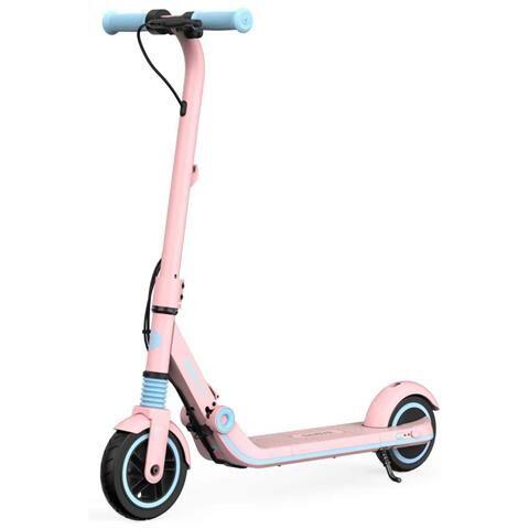 Segway Monopattino Elettrico Ninebot eKickScooter ZING E8 Pieghevole per Ragazzi Autonomia 14 km Colore Rosa