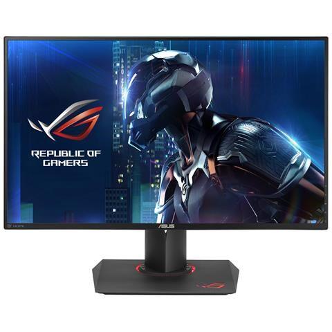Asus Monito Gaming ROG Swift PG279Q 27 Risoluzione 2560 x 1440 2K, IPS, Tempo di Risposta 4ms Contrasto 1000:1 Luminosità 350 cd / m² Nero Frequenza di Aggiornamento 165Hz, G-SYNC