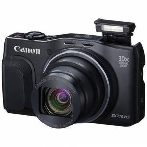 Canon PowerShot SX710 HS Nero Sensore CMOS 20Mpx Zoom Ottico 30x Display 3'' Filmati Full HD Wi-Fi / NFC GPS