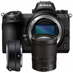 Nikon Fotocamera Mirrorless  Z6 24,5 Mpx + Z 24-70mm + Ftz Adapter