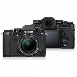 Fujifilm Fotocamera Mirrorless X-T3 + XF18-55mm F2.8-4 R LM OIS Nero