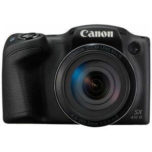 Canon Fotocamera PowerShot SX432 IS 20mpx Display 3'' Zoom ottico 45x Wi-Fi e NFC Colore Nero