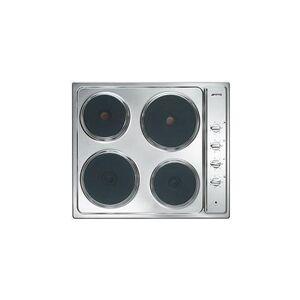 SMEG Piano Cottura SE435S Elettrico 4 Zone Cottura da 60 cm Colore Inox