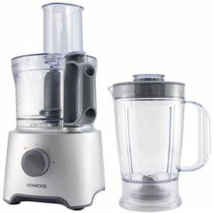 Kenwood Robot da Cucina FDP302SI Capacità 2.1 L Potenza 800 W Colore Argento