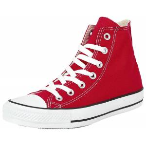 Taylor Converse Chuck Taylor All Star High Scarpe sportive rosso