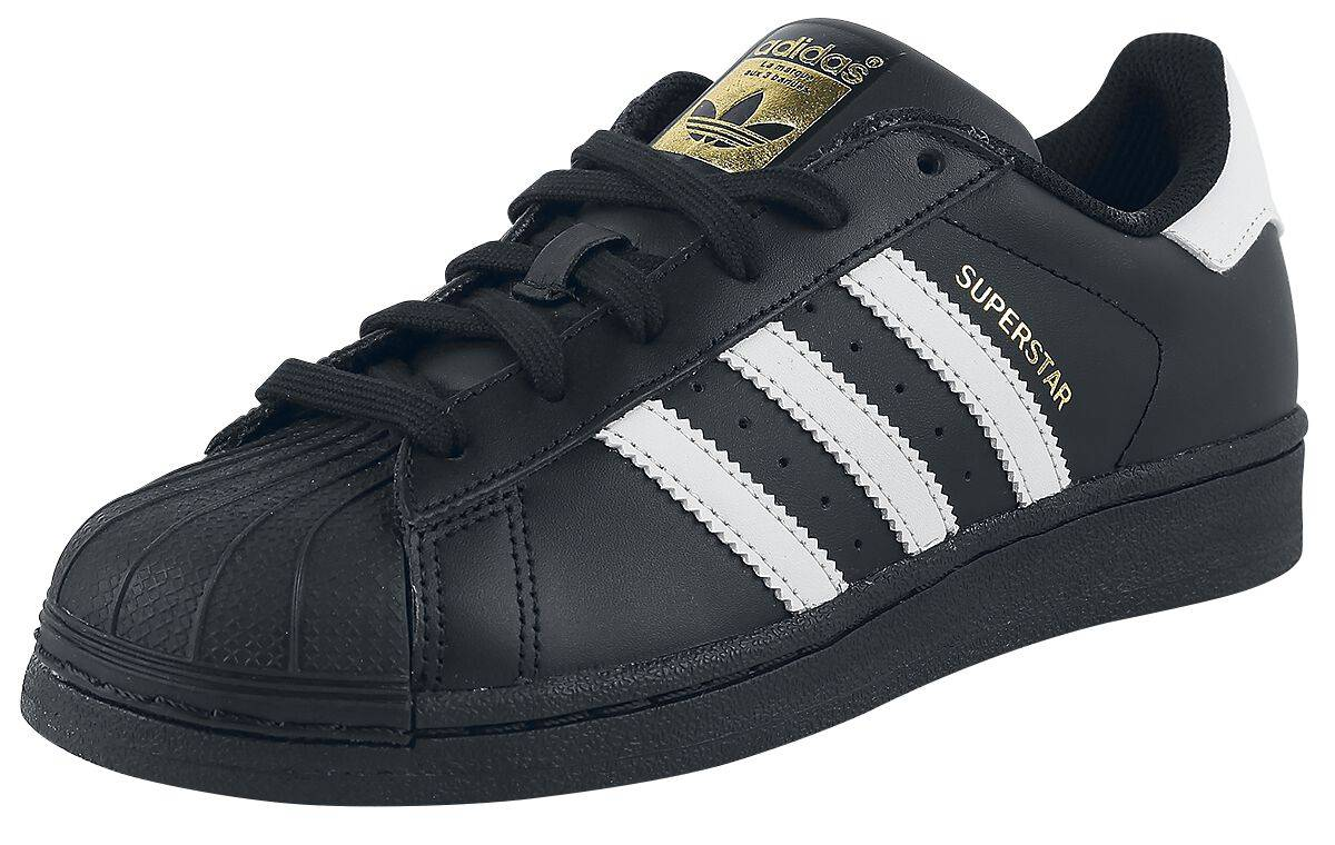 new product b9c16 46b11 99.99€. b27140 13,5 adidas superstar foundation scarpe sportive nero bianco