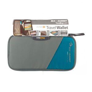 Sea To Summit Travel Wallet Rfid Medium 17.5 x 10.5 x 2 cm Grey / Blue