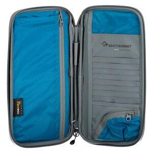 Sea To Summit Travel Wallet Rfid Large 23 x 11 x 2 cm Blue / Grey