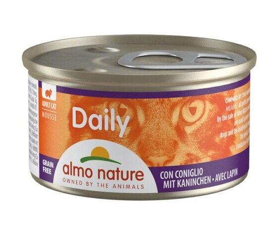 ALMO NATURE Daily Cat Mousse Con Coniglio 85g