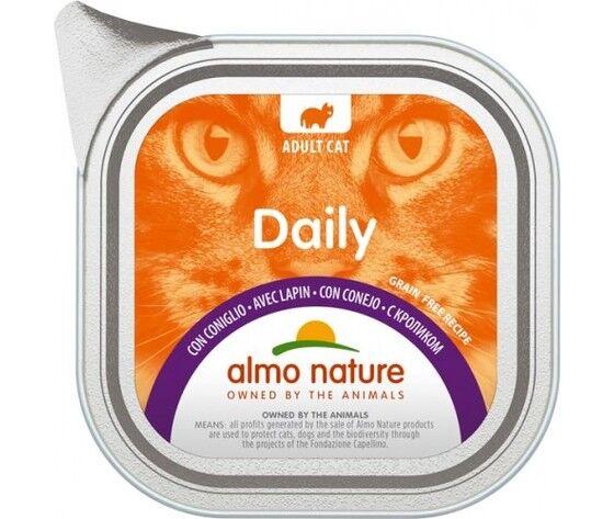 ALMO NATURE Daily Cat Con Coniglio 100g