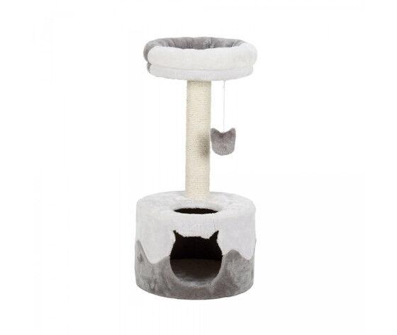 trixie tiragraffi nuria 71 cm bianco grigio