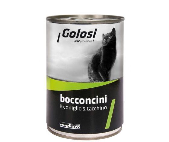 GOLOSI Bocconcini Coniglio & Tacchino 405g