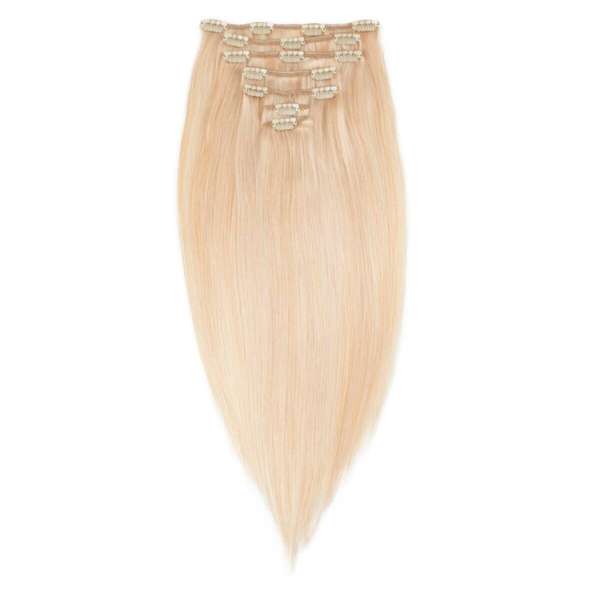 Rapunzel® Extensions Naturali Kit Clip-on Premium 7 pezzi M7.8/10.8 Light Golden Mix 50 cm