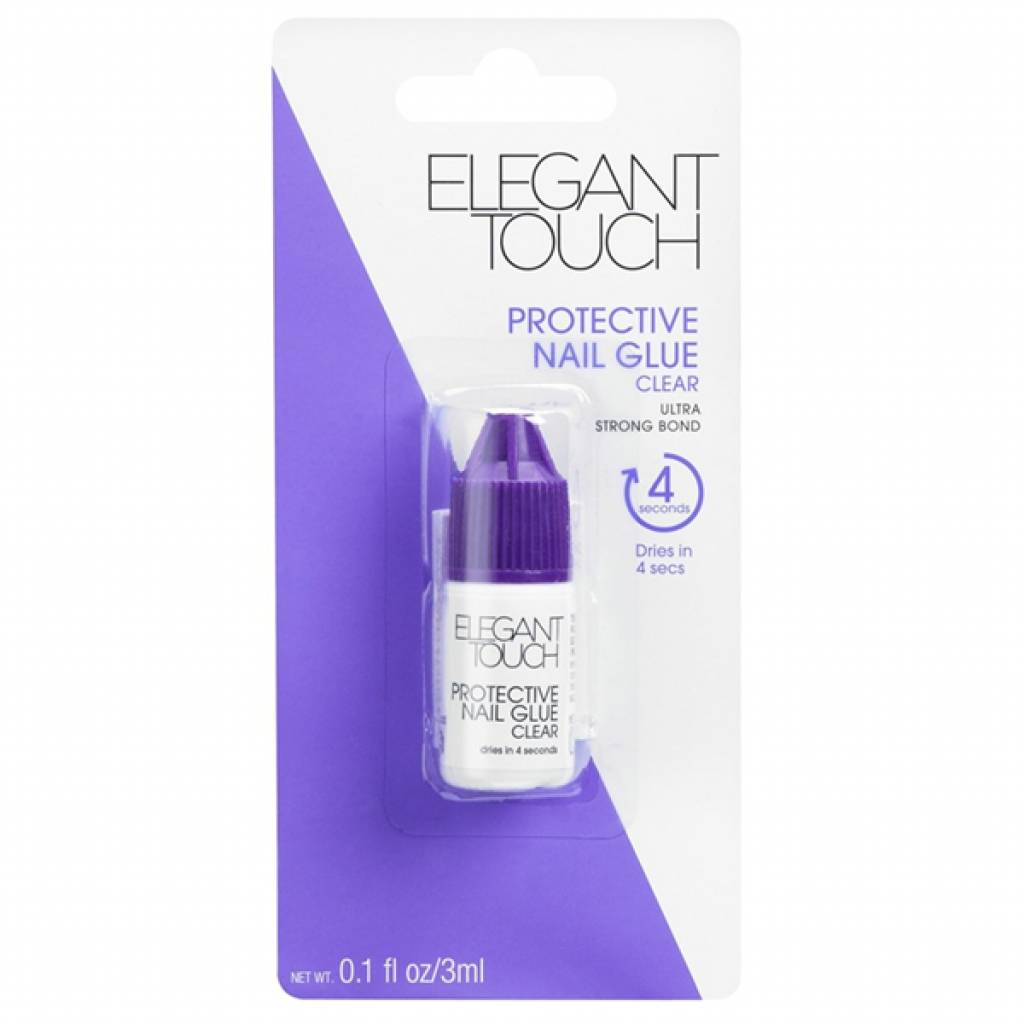 Elegant Touch - Manicure - Protective Nail Glue 3 Ml