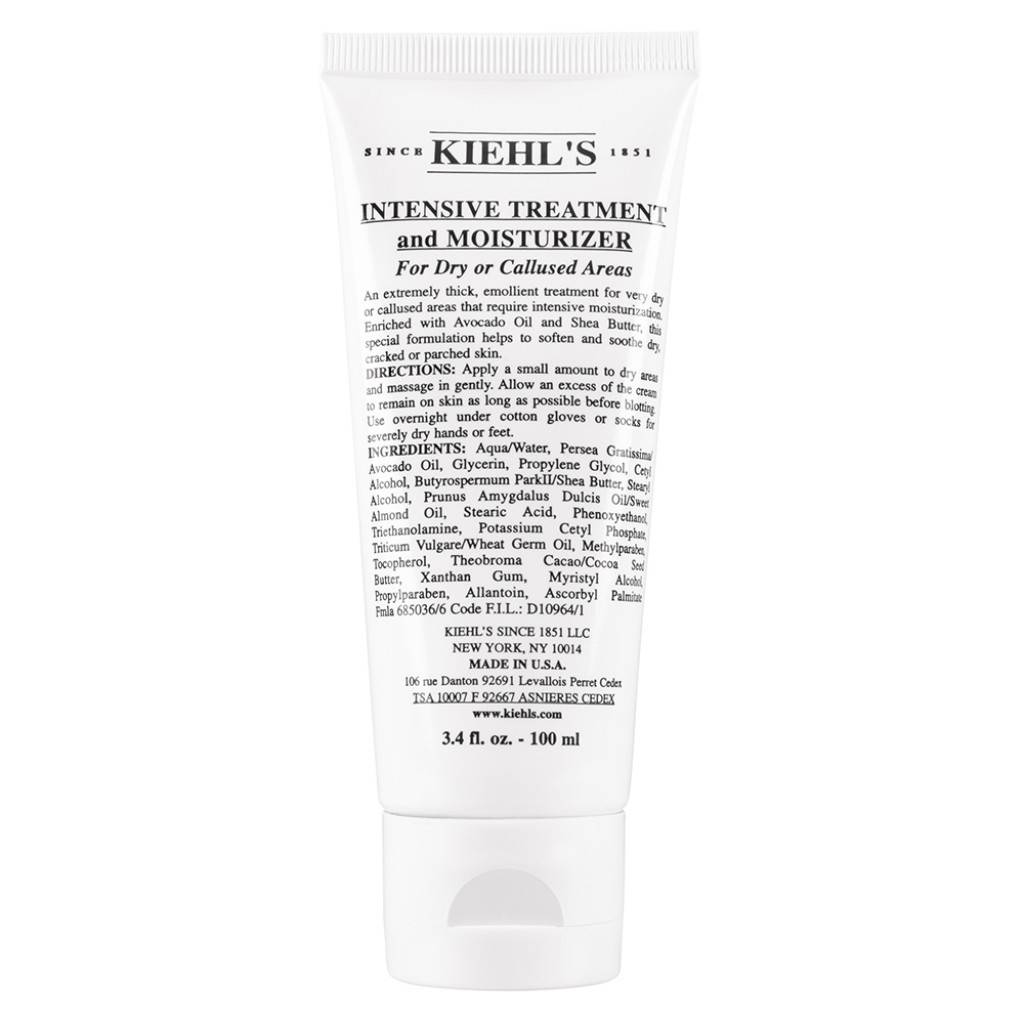 Kiehls Kiehl's Idratanti Corpo Intensive Treatment And Moisturizer For Dry Or Callused Areas 100 Ml