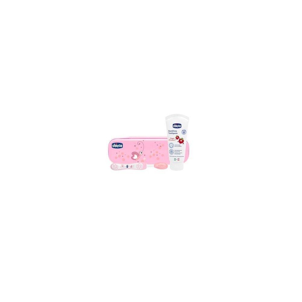 Artsana Chicco Set Ch 75331 Dentale Rosa Fluor