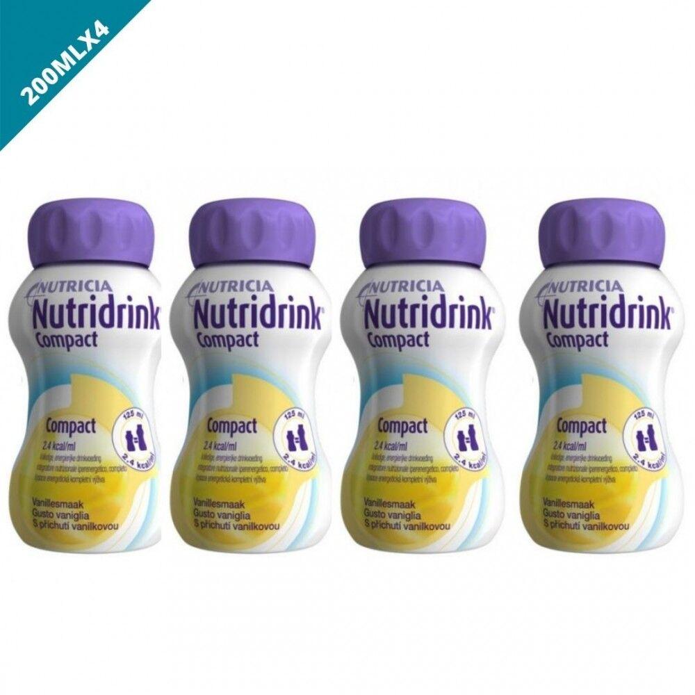 Nutricia Nutridrink Integratore Nutrizionale Vaniglia 4x125ml