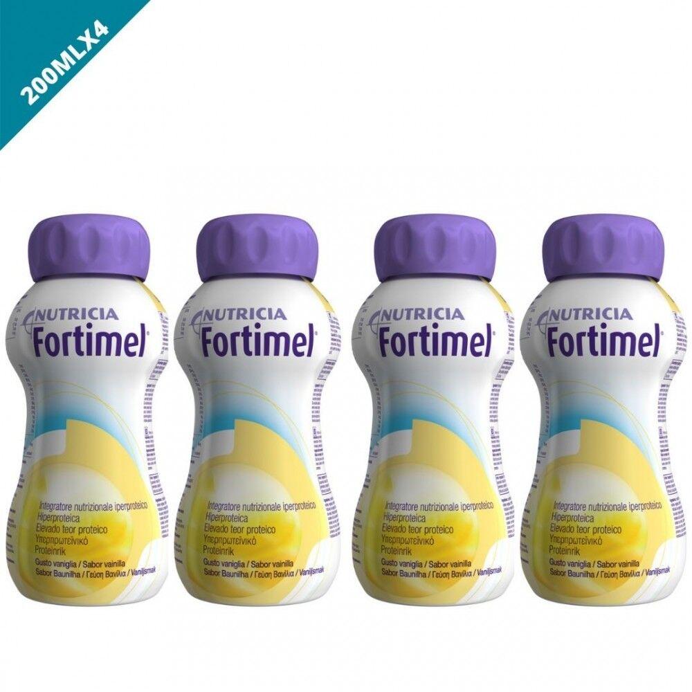 Nutricia(Ambra) Fortimel Vaniglia Integratore Ipeproteico 4x200ml