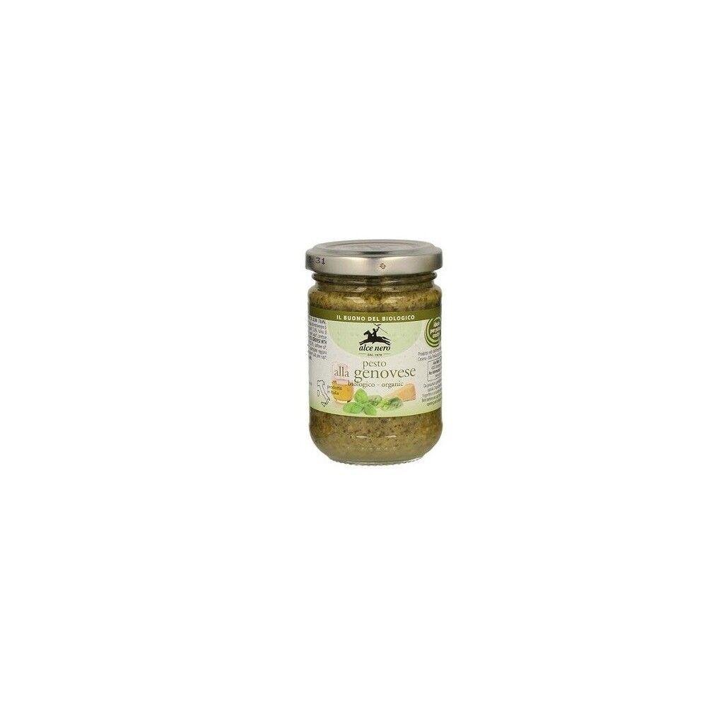 BIO + Pesto Genovese Bio 130g Alce