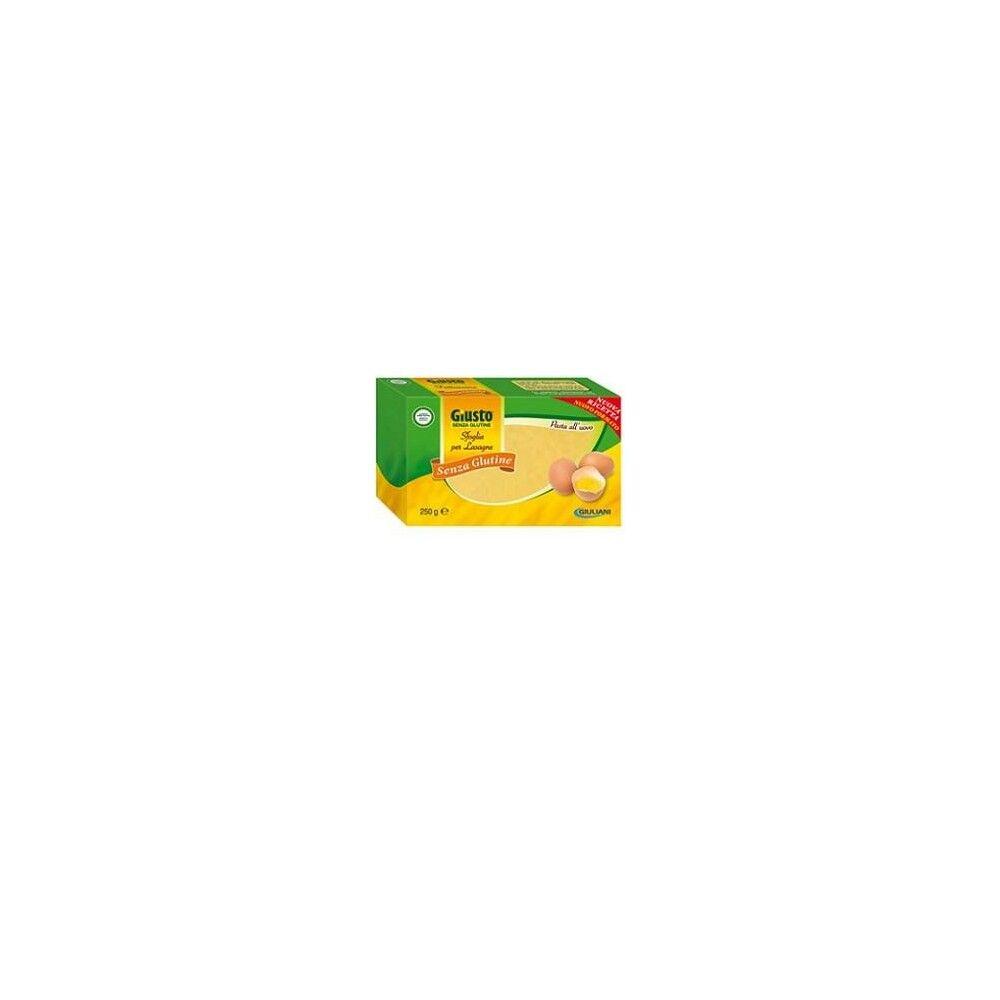 Giuliani (Linea Giusto) Giusto Pasta Sfoglie Lasagne