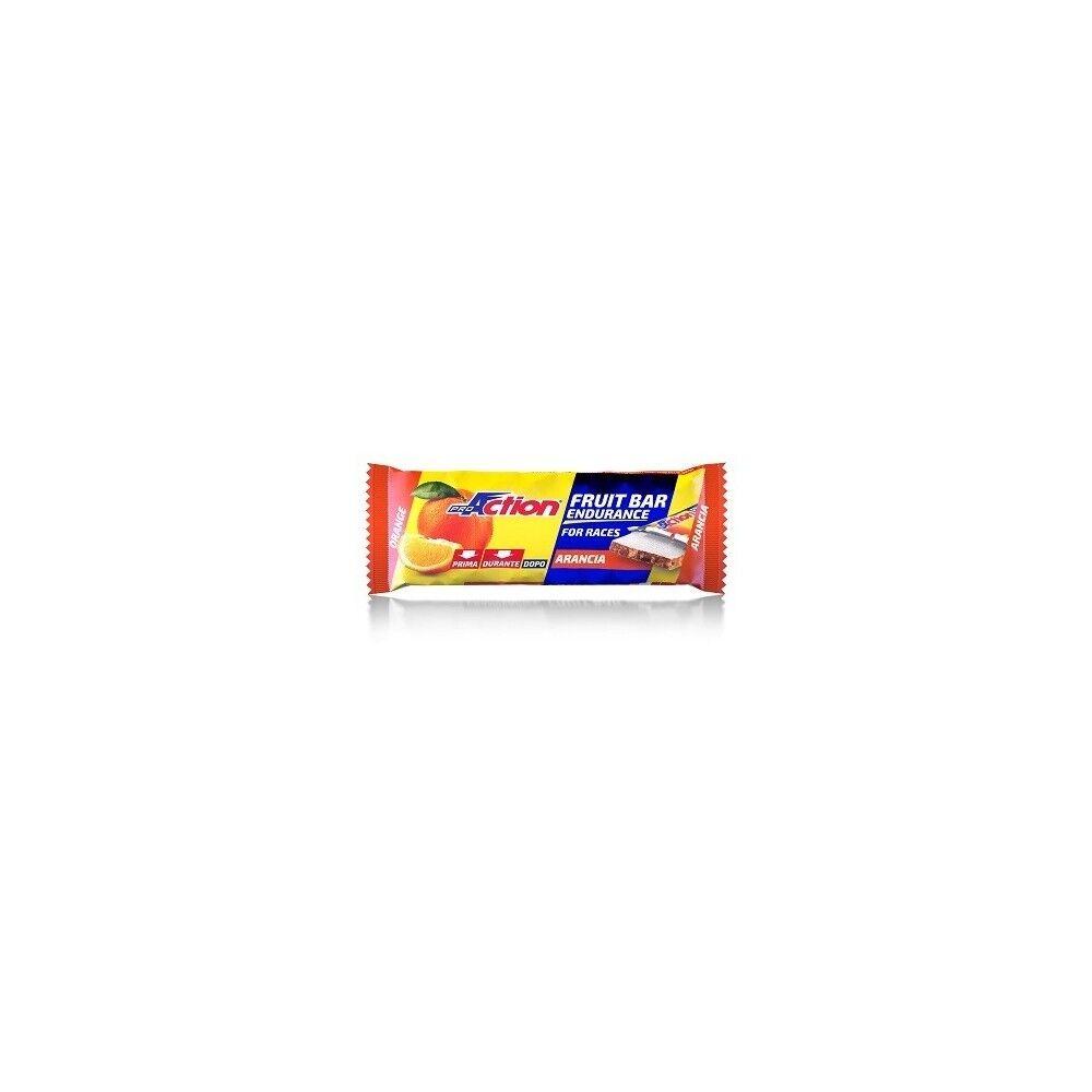 codefar proaction fruit bar arancia40g